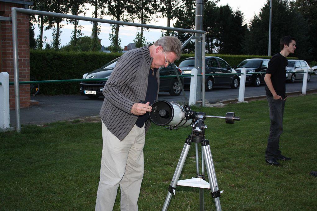 Les 20e Nuits des étoiles à Monchy-au-Bois le jeudi 5 août 2010 avec l'AAS de Saint-Laurent-Blangy et Agorawebtv