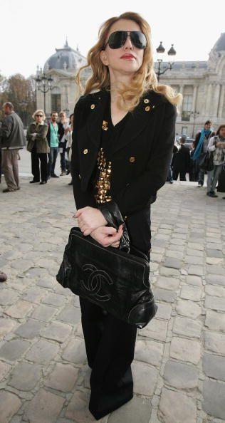 Photos des stars au défilé CHANEL 2007, victoria beckham, Dita Van Teese, Kirsten Dunst...