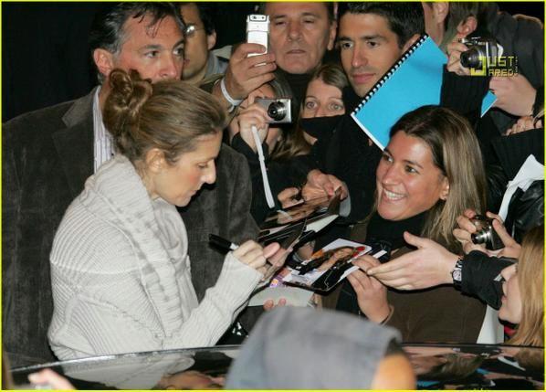 Celine DION à Paris Novembre 2007