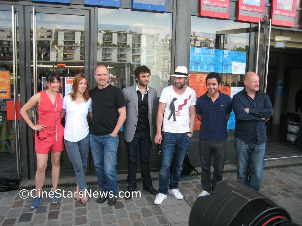 Le lancement de LA FETE DU CINEMA 2010 avecKad MERAD, Manu PAYET, Léa DRUCKER, Marie GILLAIN, Pio MARMAI, Jean-Paul SALOME©Photos CinéStarsNews