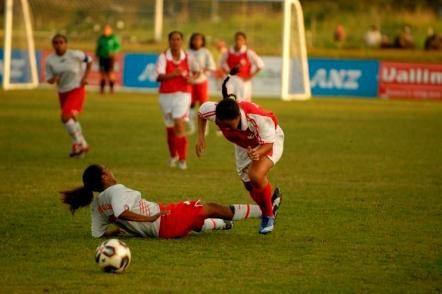 tout le football féminin en images