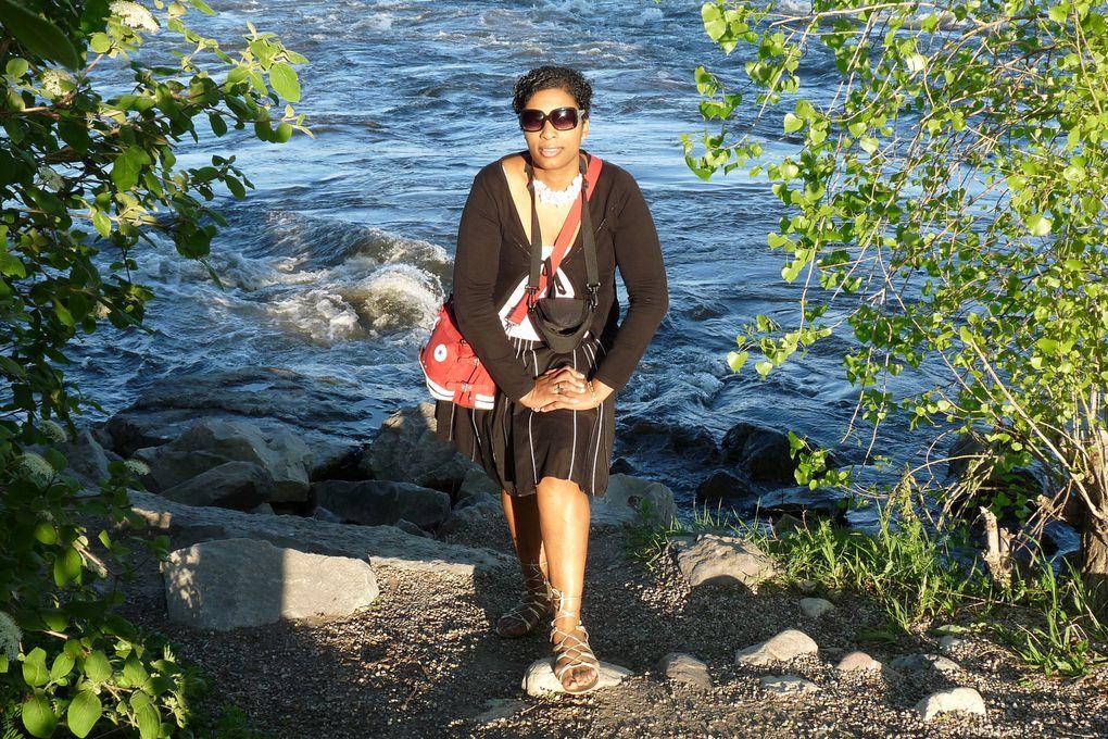 Le parc des rapides de Lachine en août 2009.