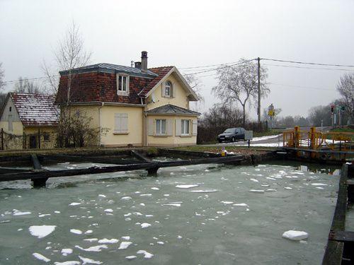Strasbourg insolite en hiver