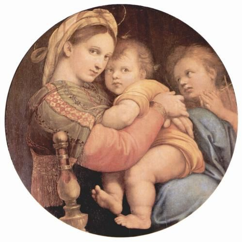 Quelques reproduction de peinture de la Galerie Palatine - palais Pitti à Florence (The work of art depicted in this image and the reproduction thereof are in the public domain worldwide. The reproduction is part of a collection of reproductions com