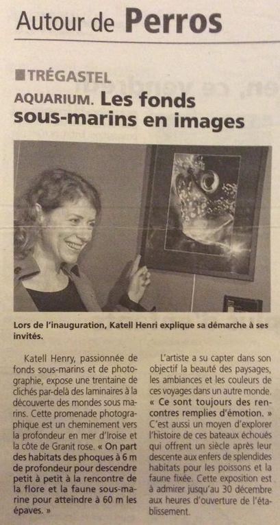 Articles de presses concernant les conférences et les vernissages des expositions de photographies