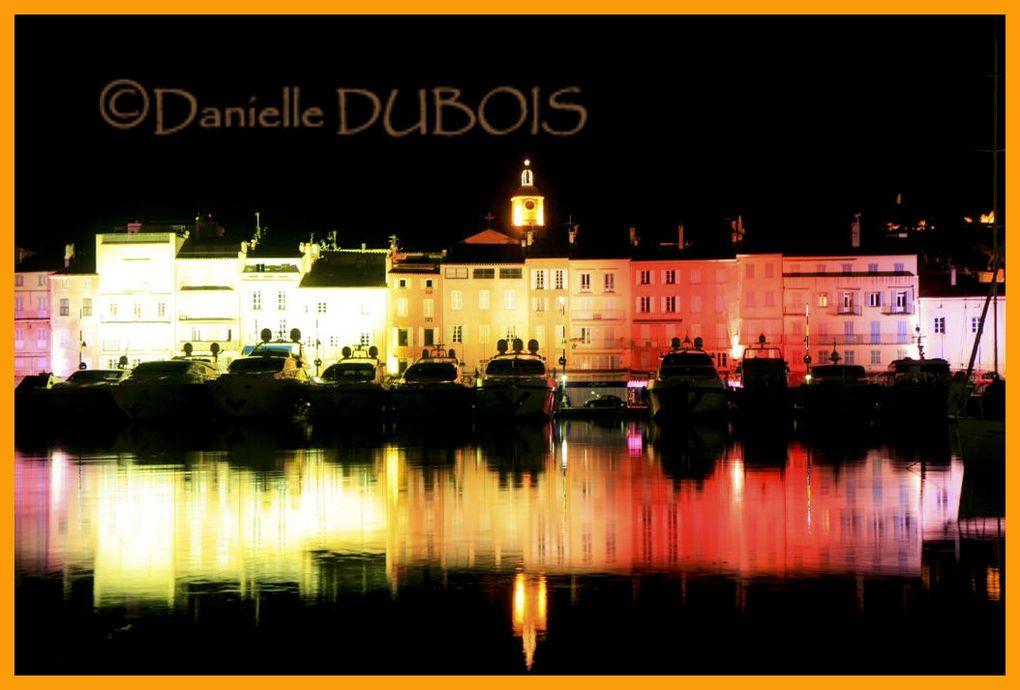 Magie des illuminations de Noël à Saint-Tropez