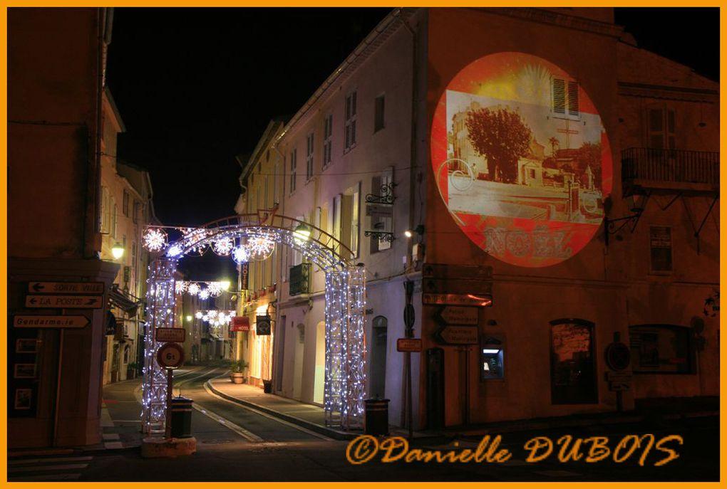 Illuminations de Noël 2010 à saint-Tropez