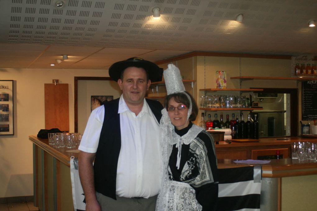 Notre soirée des 3 ans de notre association sur le thème breton.