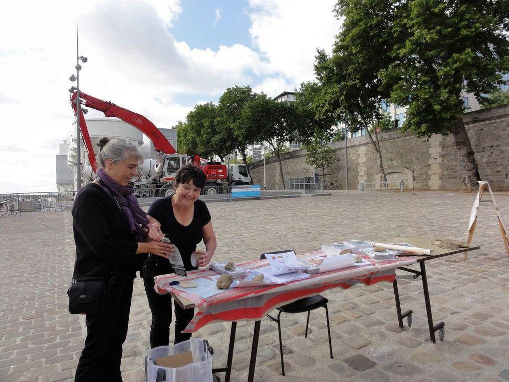 Rencontres des circuits courts, péniche Alternat, Paris (13e), 19 juin 2011