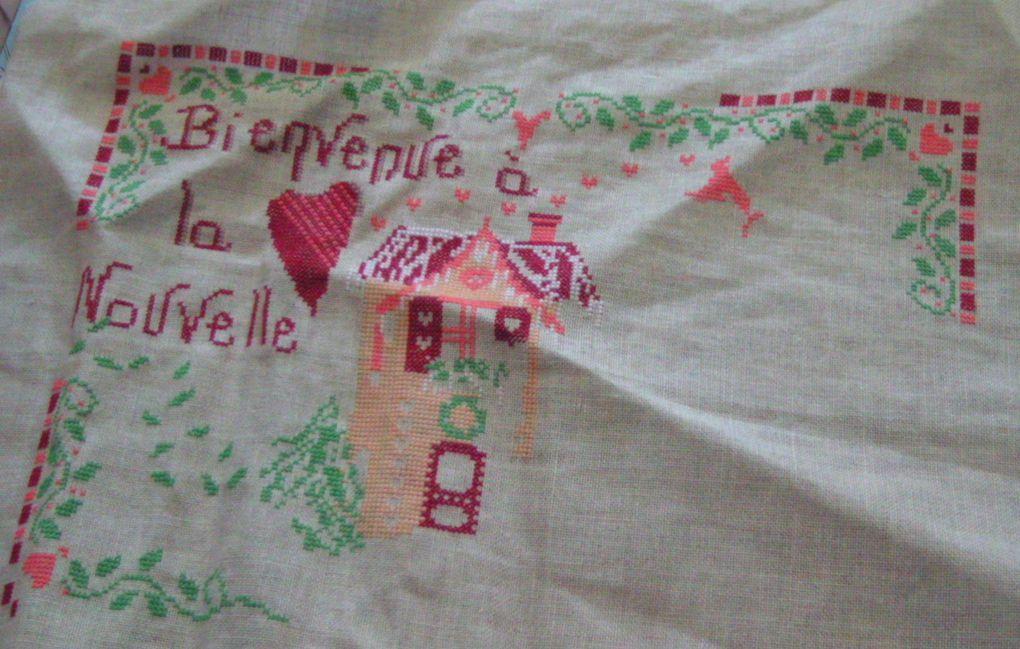 SAL Bonne année chez Vinvella janv2011 + SAL Sampler Africa chez Butterfly51 fév2011
