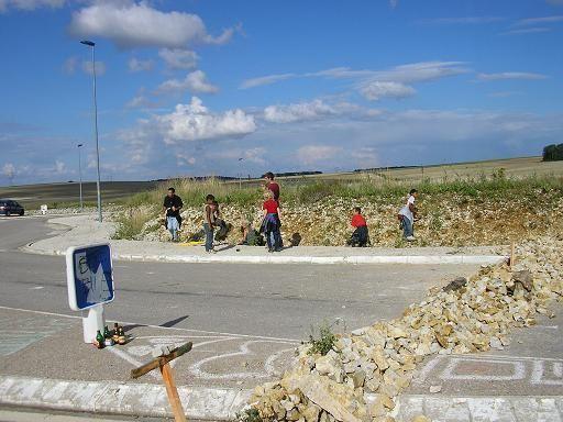 Photographies de nos actions et manifestations en 2005 et 2006.