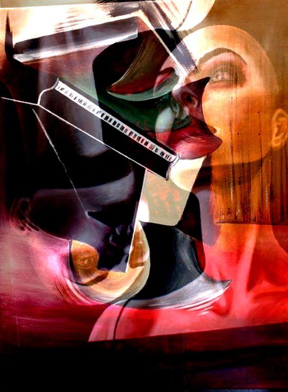 Art numérique Photographie d'art.