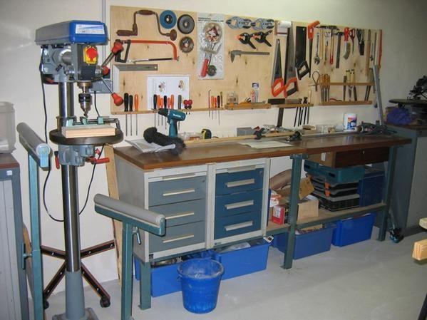 Mon coin personnel, tout le monde peut se servir des outils mais on remet chaque chose à sa place!!!