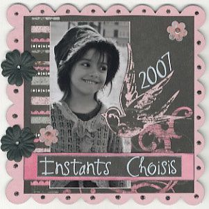 Album - Mini-Album-Instants-Choisis
