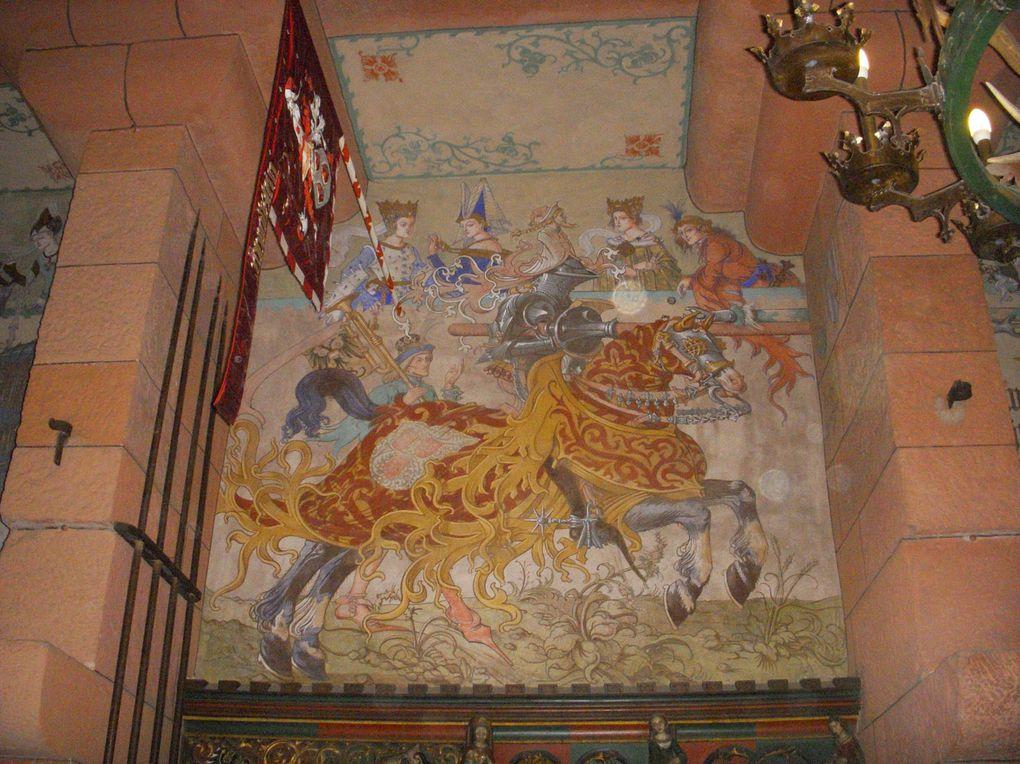 Le château du Haut-Koenigsbourg, Selestat, Alsace