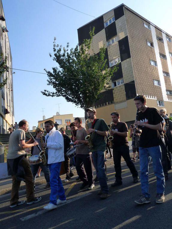 fête du quartier Elbeuf, 2008 et 2009