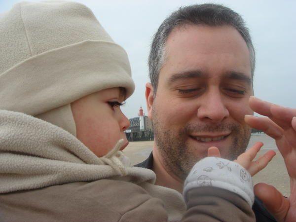 Avril 2008... marre de Paris. Petit week-end en famille du coté de Trouville