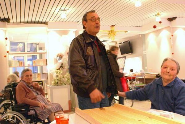 Visite de Danny &agrave&#x3B; la r&eacute&#x3B;sidence le 20 novembre 2007