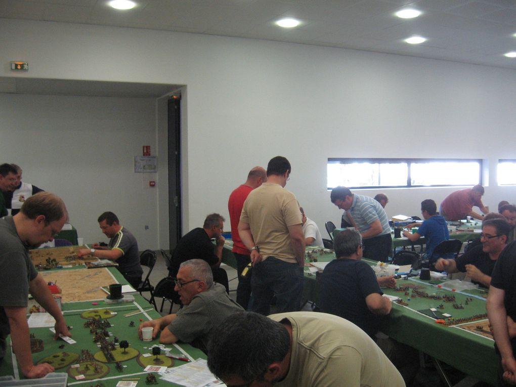 Tournoi Art de la Guerre Lyonnais 2012 organisé par le Club Achille.