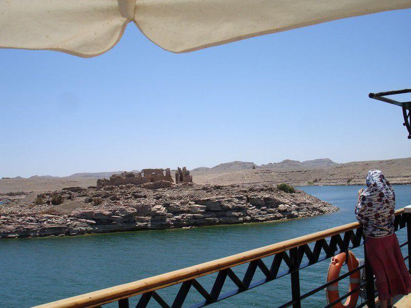 2003 croisière sur le Nil et 2007 croisière sur le Lac Nasser