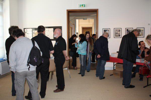 Vernissage de l'exposition LAX à l'hospice St Charles & visite du musée du vélo à Favrieux.