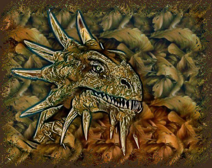 ANNUREVE - GALERIE DRANAÏDE - ERWIN PALE (essais graphiques sur le peuple dragon des Terres Immortelles) - Copyright Erwin Pale - Tous droits réservés (ne pas copier)
