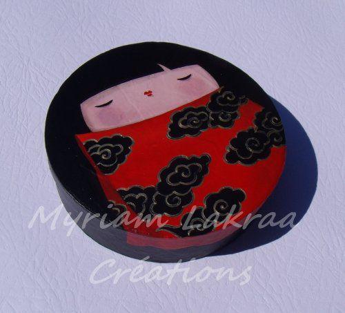 Boites peintes à l'acryllique - Créations originalesz Myriam Lakraa Créations