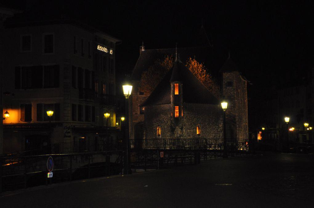 Partage d'une balade dans le vieil Annecy en novembre 2009