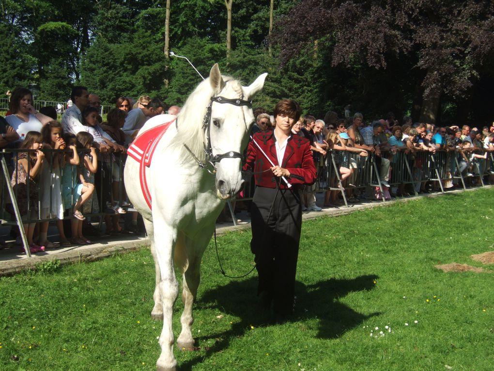 une belle journée de folklore en musique et défilé de chevaux andalous,avec ma meilleure amie Carine et son mari Alain ainsi que mon mari et moi