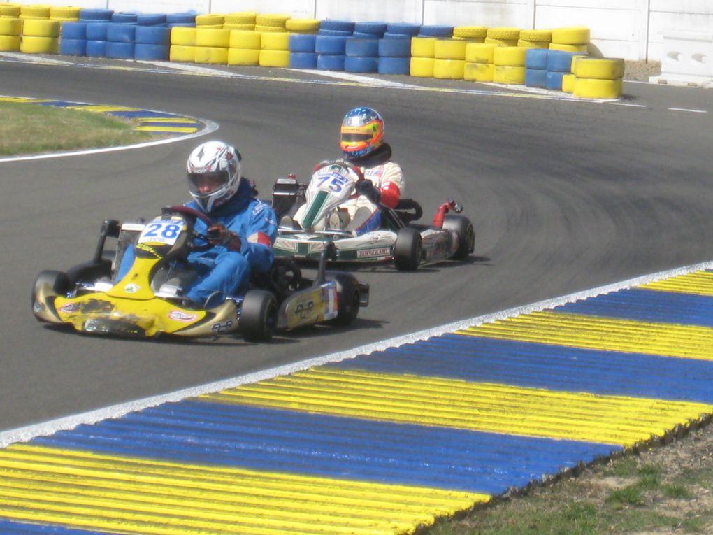 Les 24Heures Karting Le Mans, dimanche 29 août 2010 sur le Circuit Alain Prost.www.respectsport.fr