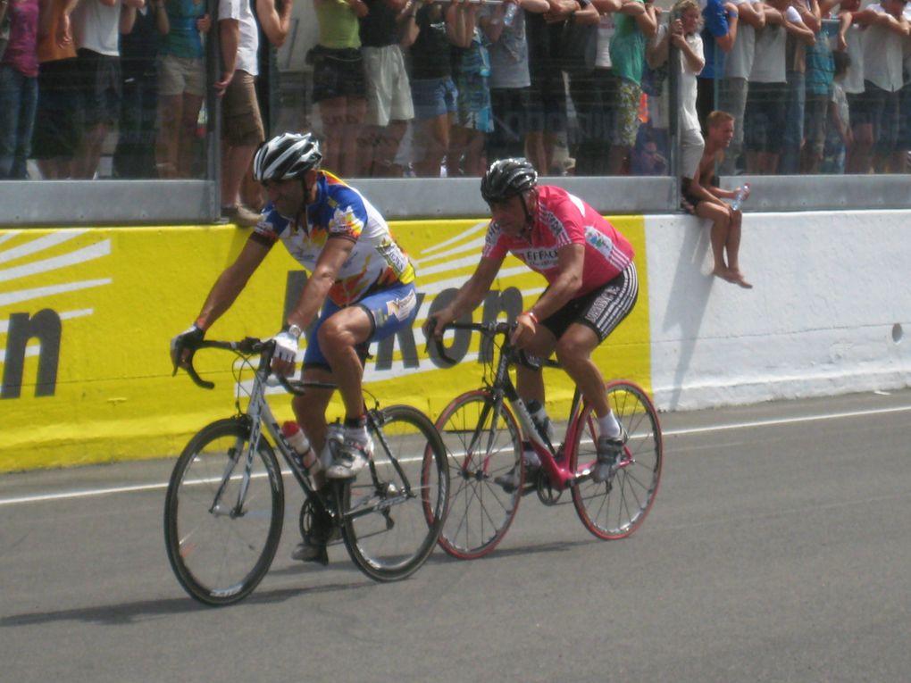 Dimanche 22 août 2010 les 24heures vélo sur le Circuit Bugatti du Mans.http://www.respectsport.fr