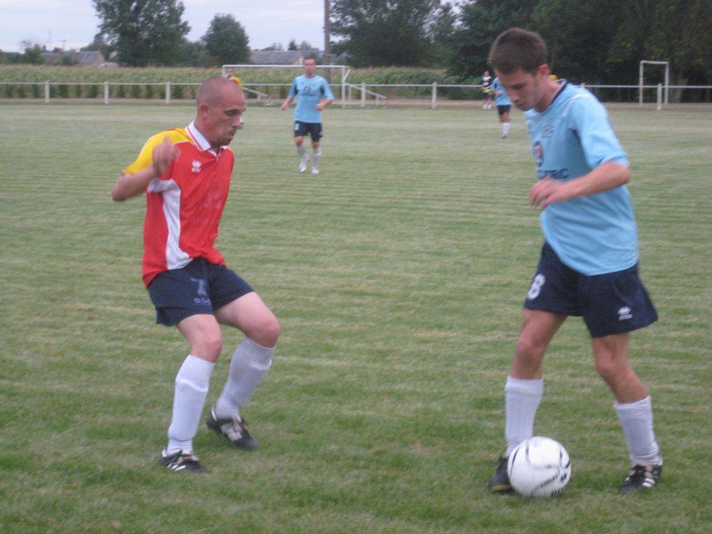 2010 0825 Match amical A contre B Coc Chateau du Loir, à Montabon.