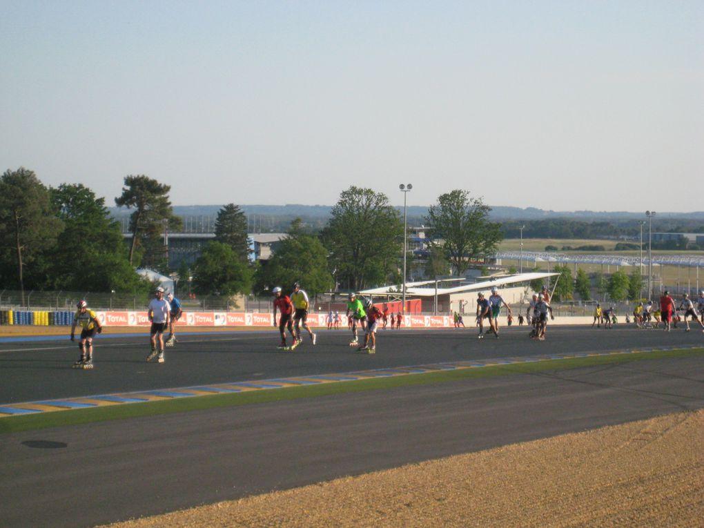 Les 24 Heures Rollers au Mans sur le circuit, du samedi 26 juin 2010 16h00 au 27 juin 2010 16h00