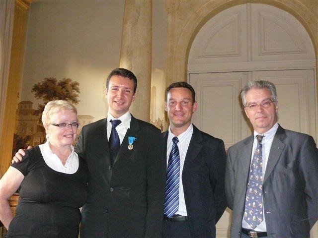 Photos de nos diverses Cérémonies et remises de Diplômes d'Honneur 2008-2009