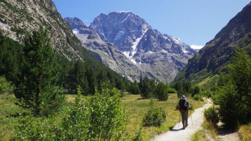8 et 9 juillet 2010, avec Séb ascension du Mont Gioberney et de la Pointe Richardson.