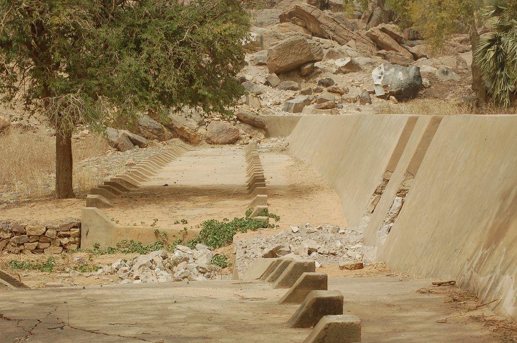 """Les travaux à Endé financés par l'asso """"Un jardin au Mali"""""""