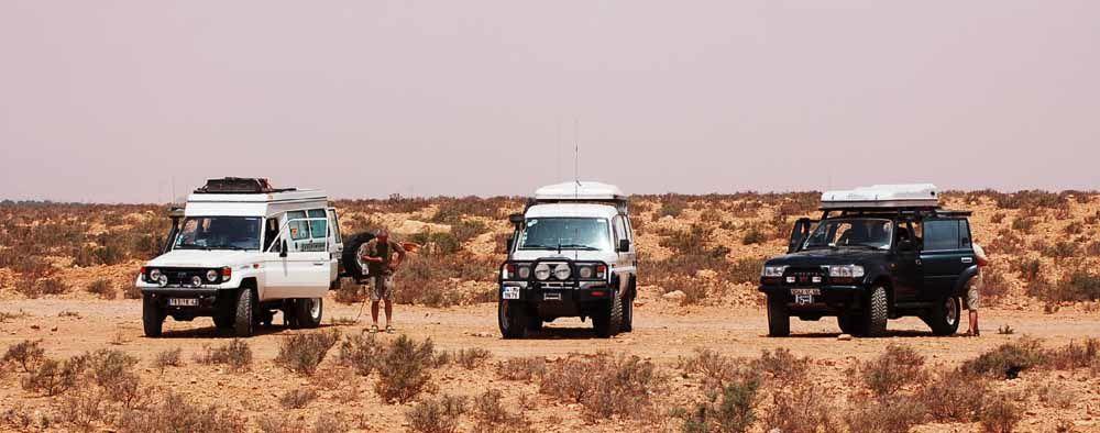 Juillet-Aout 2008 France Niger à 3 véhicules