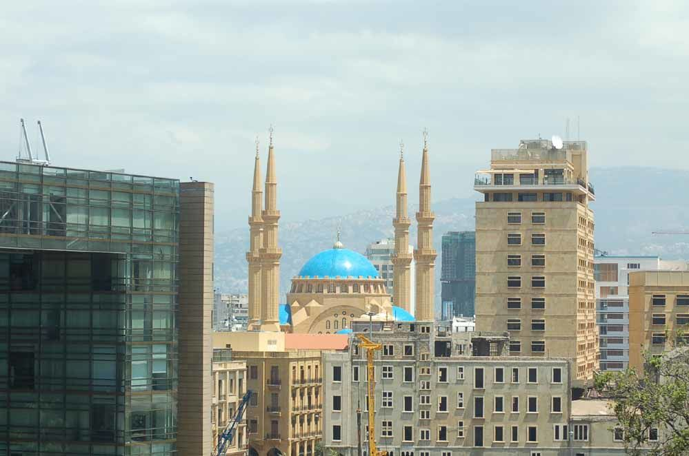Beyrouth et la Syrie
