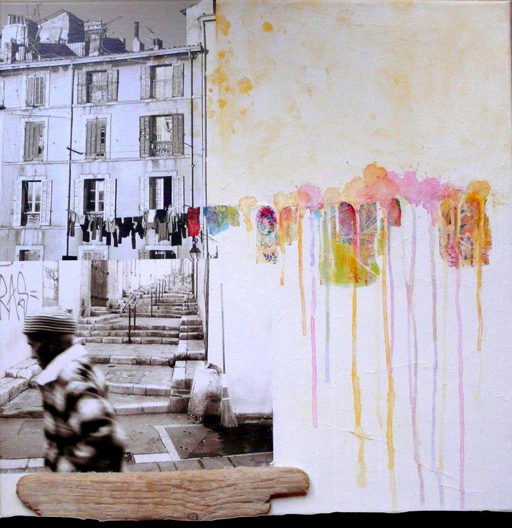 Dérives urbaines entre peinture et photographie
