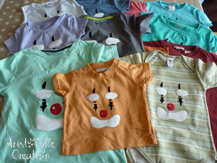 Vêtements et accessoires relookés