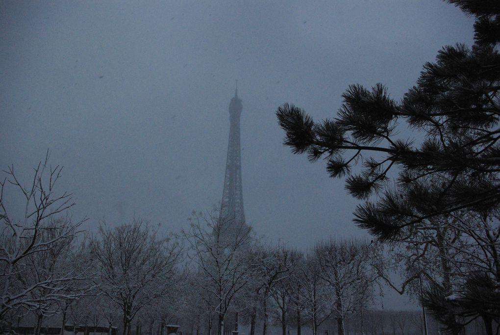 Album - Neige à Paris/nieve en Paris 20 déc 2010