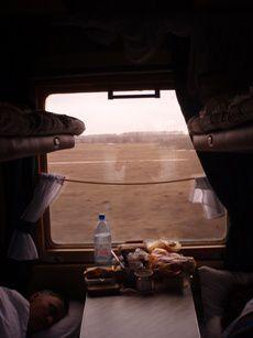 trajetde Paris a Moscou
