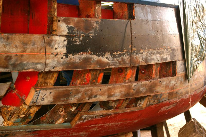Après 17 ans de navigation, Crialeis change une partie de ses bordés
