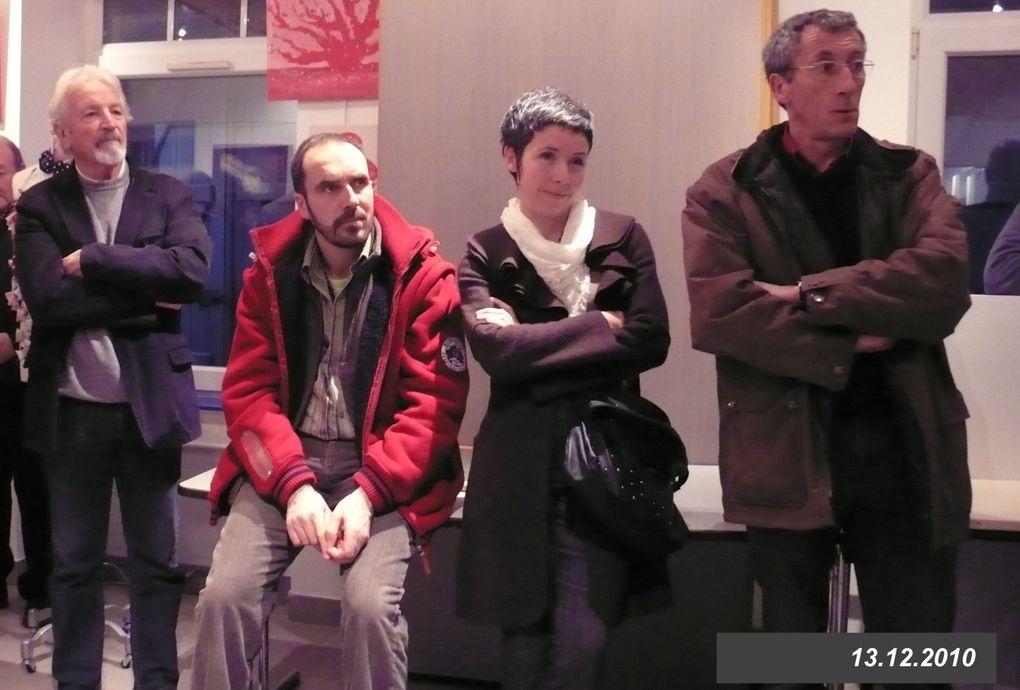 les artistes de la commune de Landéda exposent au sémaphore de l'Aber-Wrac'h