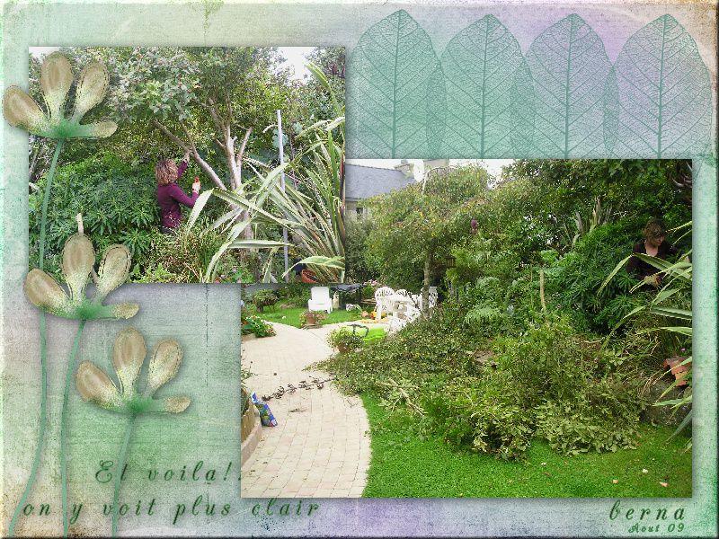des azalées mollis et japonaises, un pieris, arbre à papillons et hortensias