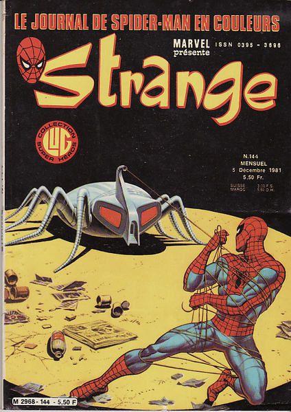 Couvertures de ma collection de Strange, spécial strange & Titans