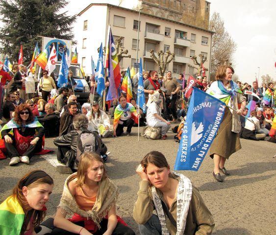 Manifestation anti-Otan de Strasbourg
