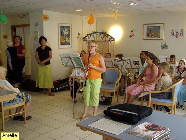 Album - Concert maison de retraite 2008