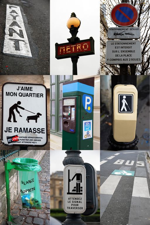 "Photographies issues de la rubrique ""Le Paris Graphique"""
