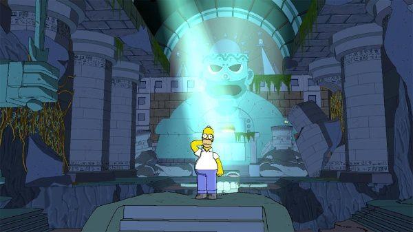 Le jeu vidéo des Simpson, sortie le 2 novembre 2007